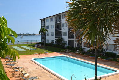 West Palm Beach Rental For Rent: 4500 Flagler Drive #B10