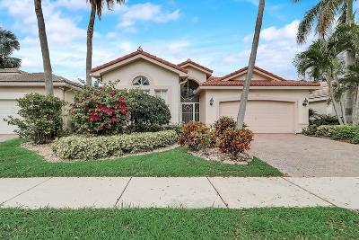 Boynton Beach Single Family Home For Sale: 6885 Molakai Circle