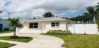 North Palm Beach Single Family Home For Sale: 433 Gulf Road