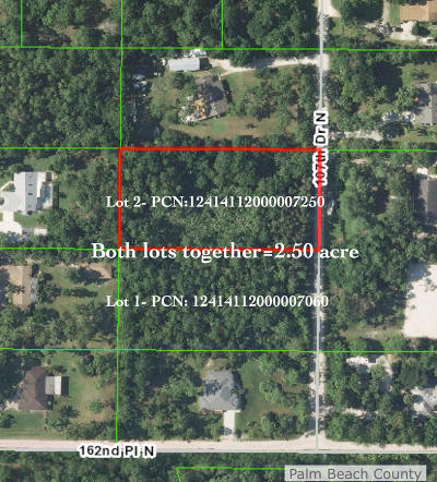 Jupiter Residential Lots & Land For Sale: 107th 107th Drive