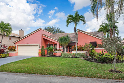 Coral Springs Single Family Home For Sale: 5085 NW 58th Terrace