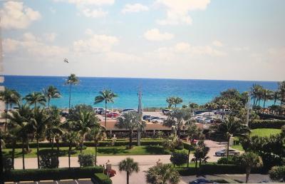 Highland Beach Rental For Rent: 3300 S Ocean Boulevard #617-C