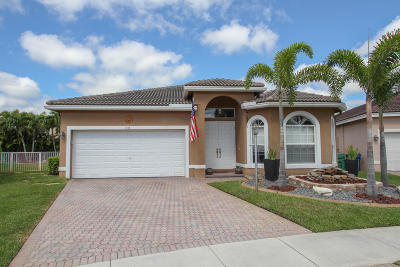 Coral Springs Single Family Home Contingent: 4716 NW 120th Way