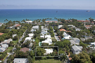 Palm Beach Single Family Home For Sale: 229 Monterey Road