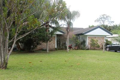 Jupiter Single Family Home For Sale: 9561 154th Road