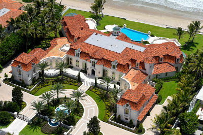 Palm Beach FL Single Family Home For Sale: $59,900,000