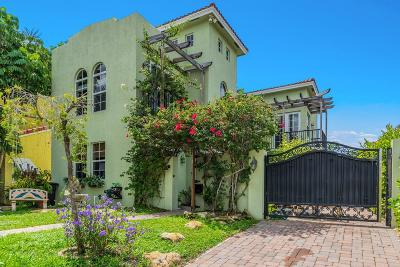 West Palm Beach Single Family Home For Sale: 724 Park Place