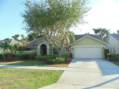 Boca Raton Single Family Home For Sale: 18618 Cape Sable Drive