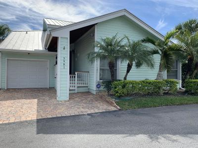 Jensen Beach Single Family Home For Sale: 3981 NE Breakwater Drive