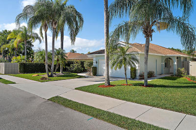 Jupiter Single Family Home For Sale: 157 Sims Creek Lane