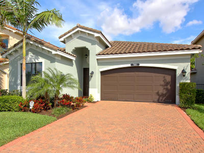 Delray Beach Single Family Home Contingent: 7891 Blue Tanzanite Way