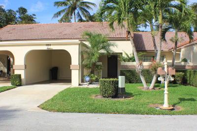 Boynton Beach Single Family Home For Sale: 5655 Parkwalk Circle E