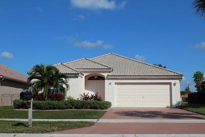Royal Palm Beach Single Family Home Contingent: 250 Saratoga Boulevard E