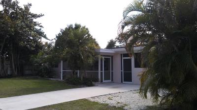 Fort Pierce Single Family Home For Sale: 214 Beach Avenue