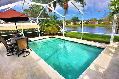 Palm Beach Gardens Single Family Home Contingent: 661 Hudson Bay Drive