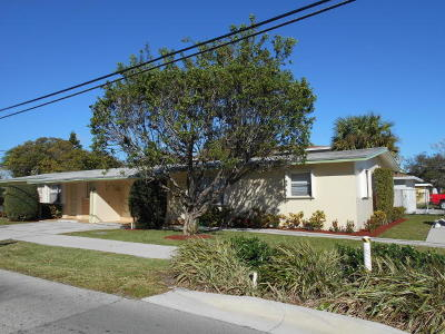 Delray Beach Multi Family Home Contingent: 803 SW 2nd Street