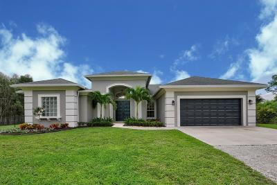 Loxahatchee Single Family Home For Sale: 14610 86th Road