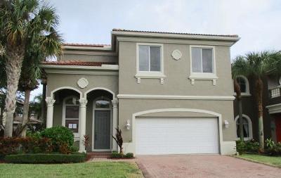 Boynton Beach Single Family Home For Sale: 1006 Grove Park Circle