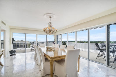 Palm Beach Condo For Sale: 2773 S Ocean Boulevard #A