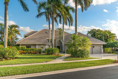 Boca Pointe Single Family Home For Sale: 7251 Montrico Drive