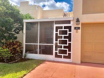 Boca Raton Single Family Home For Sale: 18871 Stewart Circle #2