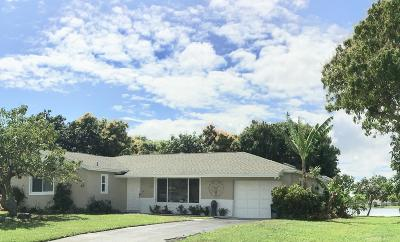 West Palm Beach Single Family Home For Sale: 827 Patrick Drive