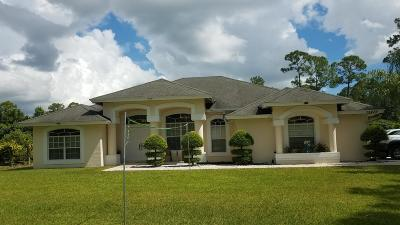Loxahatchee Single Family Home For Sale: 15479 78th Place
