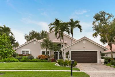Boynton Beach Single Family Home For Sale: 7312 Amber Falls Lane