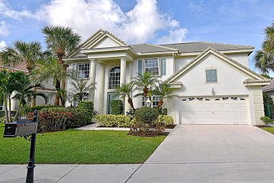 Palm Beach Gardens Single Family Home Contingent: 180 Satinwood Lane