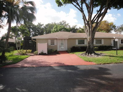 Boca Raton Single Family Home For Sale: 8936 Rheims Road #A