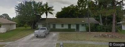 Royal Palm Beach FL Single Family Home For Sale: $333,900
