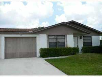 West Palm Beach Single Family Home Contingent: 4972 Palm Hill Drive