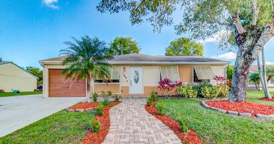 Royal Palm Beach Single Family Home For Sale: 1346 Donwoods Lane