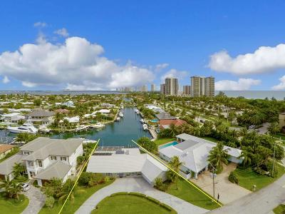 Singer Island Single Family Home For Sale: 1280 Bimini Lane