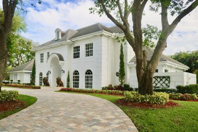 Palm Beach Gardens FL Single Family Home For Sale: $1,799,999