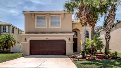 Royal Palm Beach Single Family Home For Sale: 281 Saratoga Boulevard E