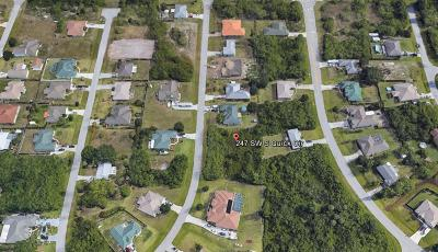 Port Saint Lucie FL Residential Lots & Land Sold: $33,000