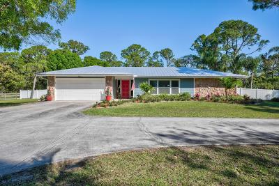 Jupiter Single Family Home For Sale: 12165 169th Court