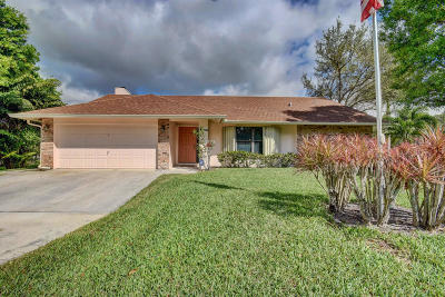 West Palm Beach Single Family Home For Sale: 12685 73rd Court