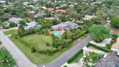 Boynton Beach Single Family Home For Sale: 600 Hillcrest Road