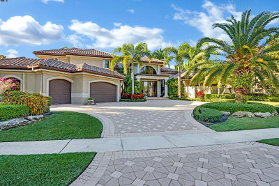 West Palm Beach Single Family Home For Sale: 8482 Egret Meadow Lane