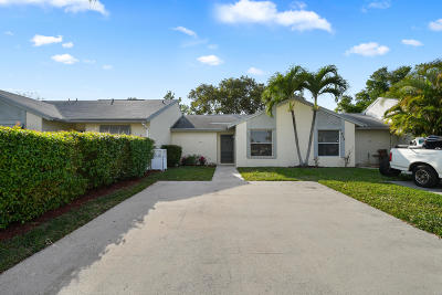 Jupiter Single Family Home Contingent: 270 Palmetto Court