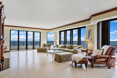 Palm Beach Condo For Sale: 3100 S Ocean Boulevard #701n