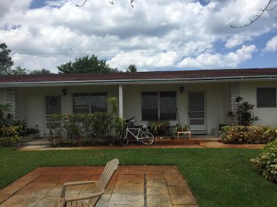 Tequesta Multi Family Home Contingent: 19032 SE Hillcrest Drive