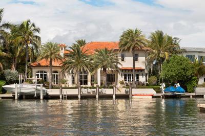 Broward County, Palm Beach County Single Family Home For Sale: 88 Island Drive S