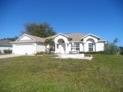 Port Saint Lucie FL Single Family Home Sold: $292,000
