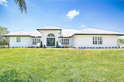 Jupiter Single Family Home For Sale: 9362 154th Road