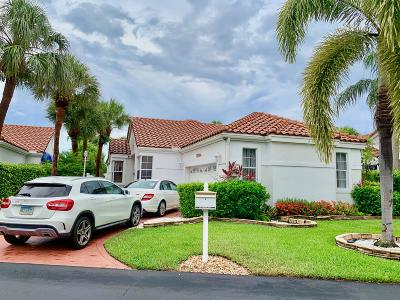 Boca Raton Single Family Home For Sale: 17744 Candlewood Terrace