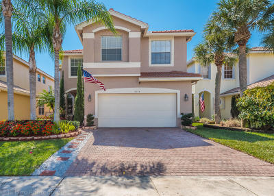 Greenacres Single Family Home For Sale: 5094 Starblaze Drive