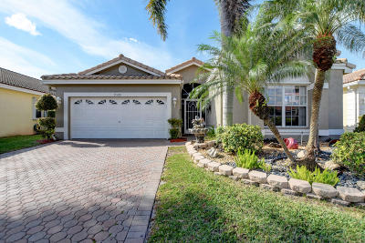 Boynton Beach Single Family Home For Sale: 9599 Orchid Grove Trail